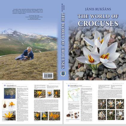 The World of Crocuses. 20,5x29 cm, 568 lpp., cietais sējums